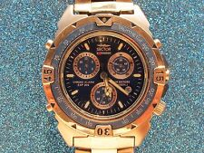 SECTOR EXPANDER CHRONO ALARM EXP 202 QUARTZ CHRONOGRAPH DIVERS MENS 100 METERS