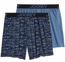 NWT Men's Jockey 2-Pack Microfiber No Bunch Boxers