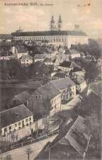 Kremsmunster Austria Stift Monastery Abbey Village Scene Antique Postcard K15352