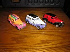 Nice Lot of 3 Matchbox 1939 '39 Chevy Sedan Delivery Vans 2 with rubber tires