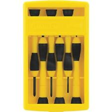 (24)-Stanley 6-Piece Precision Screwdriver Set With Storage Case 66-052
