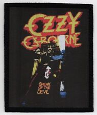 OZZY OSBOURNE PATCH / SPEED-THRASH-BLACK-DEATH METAL