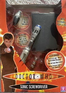 Doctor Who 10th Dr Sonic Screwdriver With Ultraviolet Light & Pen Unopened New