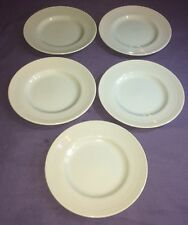 """Woods Ware Beryl Green 7"""" Side Plates x 5. VG Condition"""