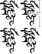 4pcs Anime Cosplay Body Sticker BLACK LAGOON Revy Levy Temporary Costume Tattoo