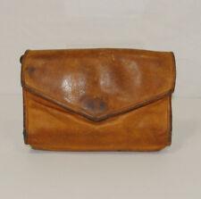 c8278a986e16 Julia Duren Brown Rainguarded Leather Shoulder Crossbody Clutch Bag Purse  USA