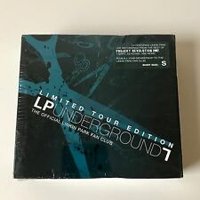 New! LINKIN PARK UNDERGROUND 7 BOX SET w/ CD, Shirt (S), Stickers, Etc! SEALED!