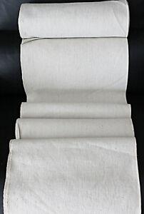 Antiker handgewebter Ballen mittelfeines Bauernleinen *  830 x 72 * um 1900 *