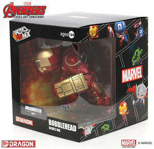 """Dragon Models 6"""" Hulk Buster Age of Ultron Bobblehead Toy Figure Christmas gift"""