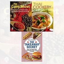 Curry Secret,Takeaway Secret 3 Books Collection Set Thai Cookery Secrets New