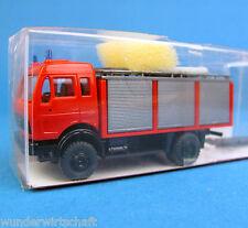 Roskopf H0 653 MB Rüstwagen RW 2 Feuerwehr Bachert Mercedes OVP HO 1:87 RMM