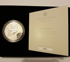 7500 Made Royal Mint Brilliant Uncirculated 2021 999 Silver Britannia Coin COA