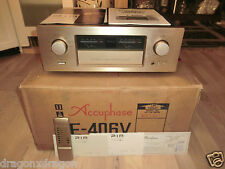 Accuphase e-406v High-End Amplificatore, OVP molto look Pia dispositivo, 2j. GARANZIA