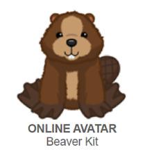 Webkinz Classic Beaver Kit *Code Only*