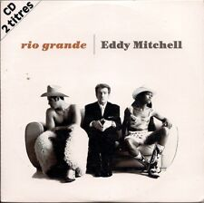 Eddy Mitchell Rio Grande  in card slipsleeve French CD Single France