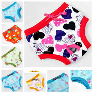 Washable Pet Dog Puppy Diaper Print Pants Physiological Sanitary Short Underwear