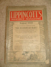 Lippencott's Monthly Magazine, August, 1910, No. 512