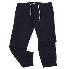 4282W pantalone uomo PAOLO PECORA blue cotton trouser men