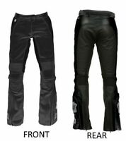 Joe Rocket Trixie Ladies Womens Leather Motorcycle Motorbike Pants Jeans Trouser