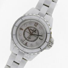Chanel J12 White Ceramic 29mm White Diamond Dial H2570 Mint Never Worn