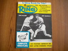 THE RING - BOXING MAGAZINE - JUNE 1960 - BRITISH ISSUE - FULLMER, GIARDELLO
