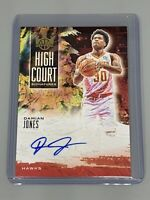 Damian Jones 2019-20 Panini Court Kings Auto /179 High Court Signatures Hawks