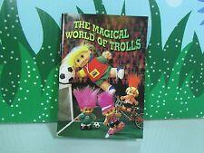 THE MAGICAL WORLD OF TROLLS MINI BOOK -  Russ Troll Doll - Very Rare
