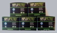 Hiflofiltro Oil Filters (HF136) (5  Pack) fits Suzuki GN250 / GZ250 Marauder