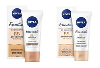 Nivea Daily Essentials 5-in-1 BB Beautifying Moisturizer Protect Skin SPF 20