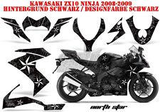 Amr racing décor Graphic Kit Kawasaki zx-6r 636/10r/z-1000 sx Northstar B