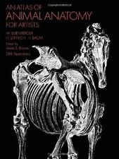 An Atlas of Animal Anatomy for Artists (Dover Anatomy for Artists) - 0486200825