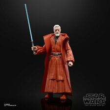 6 Inch 50th Anniversary Obi-Wan Kenobi Figure Star Wars Black Series TBS .LOOSE