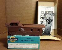 Athearn Chesapeake And Ohio Railroad Caboose  HO Scale