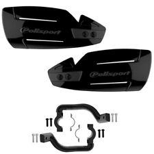 Polisport Hammer Handguards MX Enduro Motocross Hand Guards Fitting Kit Black