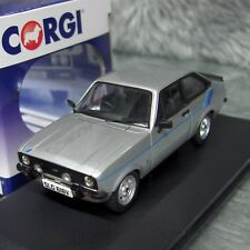 NEW Corgi Vanguards 1:43 Ford Escort Mk2 1.6 Harrier Strato Silver VA12611