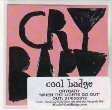 (DL537) Cry Baby, When The Lights Go Out - 2012 DJ CD