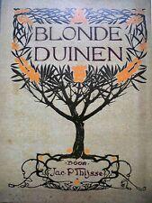 JAC.P:THIJSSE.BLONDE DUINEN.ILLUSTR:J.W.R.WENKEBACH+JAN VAN OORT.1911-Jugendstil