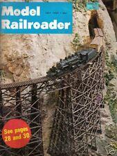 VINTAGE MODEL RAILROADER MAGAZINE TRAINS JULY 1969