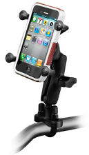RAM Motorcycle Handle Bar Clamp Mount for Samsung Galaxy, Gravity, Others