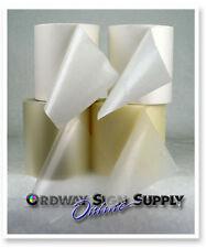 4 6 Rolls Clear Conform Vinyl Cutter Decal Application Transfer Tape Sampler