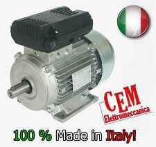 Motore elettrico 2 HP 1,5kW 2 Poli 2800 giri MEC 80 B3 Monofase 220V Compressore