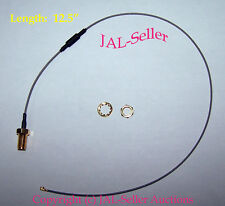 """12.5"""" IPX / IPEX (U.FL) to RP-SMA Female Pigtail Cable for Wifi Wireless Antenna"""