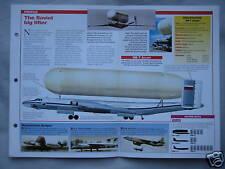 Aircraft of the World Card 17 , Group 9 - Myasishchev VM-T Atlant