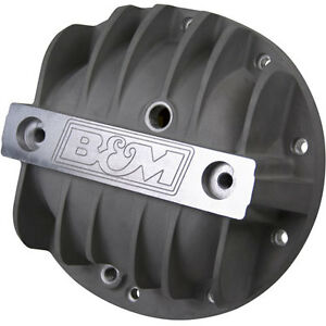 "B&M 70502 Finned Aluminum Differential Cover Chevy 8.2"" 8.5"" 8.6"" 10 Bolt"