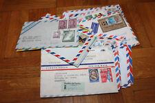 Kleine Sammlung Luftpostbriefe nach Übersee