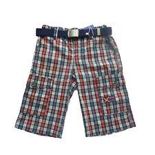 Pantalones cortos niño,shorts de Losan , rojo ,talla 8