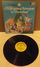 1973 Walt Disney A CHRISTMAS ADVENTURE IN DISNEYLAND 33rpm Record Album #1355