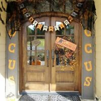 Halloween Cobweb Fireplace Scarf Lace Black Spider Web Mantle Cloth Door Cover