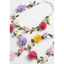 con fiori rosa ghirlanda Fascia per capelli Striscia la fronte elastico Festival