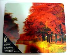 Tapis de souris 3D, neuf - mouse pad, NEW. Theme : Automne, arbre / Tree, autumn